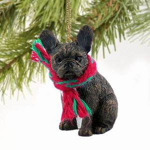 Raining Cats and Dogs | French Bulldog Christmas Ornament