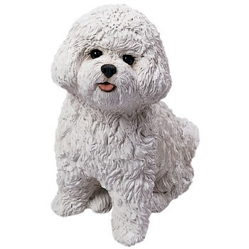 Raining Cats and Dogs | Bichon Frise Sandicast Original Figurine