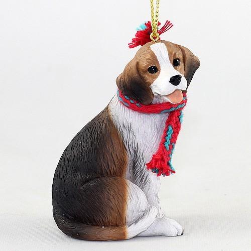 raining cats and dogs beagle christmas ornament - Christmas Beagle