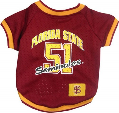 Florida State Seminoles Pet NCAA Football Jersey 8d2830407