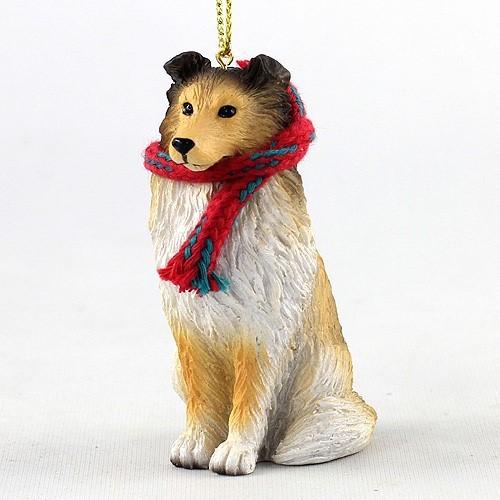 - Raining Cats And Dogs Sheltie Original Christmas Ornament