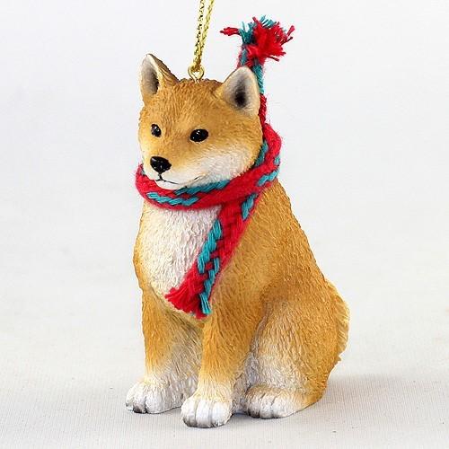 Raining Cats and Dogs | Shiba Inu Original Christmas Ornament