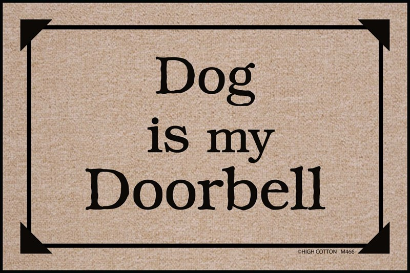 Raining Cats and Dogs | Dog is my Doorbell Mat