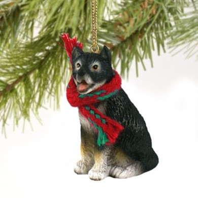 Alaskan Malamute Christmas Ornament - Dog Christmas Ornaments, Dog Breed Christmas Ornaments, Dog