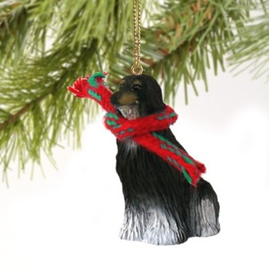 Afghan Hound Christmas Ornament