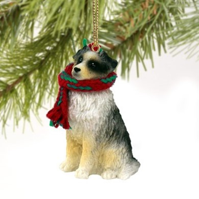 Australian Shepherd Christmas Ornament