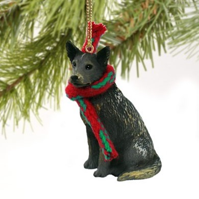 Australian Cattle Dog Christmas Ornament - Dog Christmas Ornaments, Dog Breed Christmas Ornaments, Dog