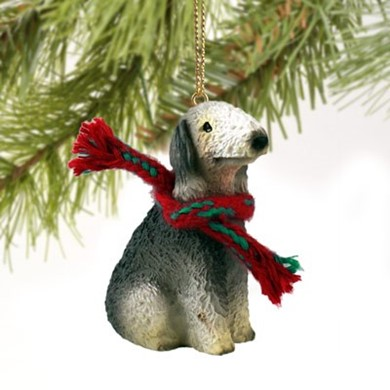 Bedlington Terrier Christmas Ornament