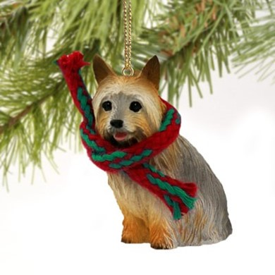 Silky Terrier Christmas Ornament