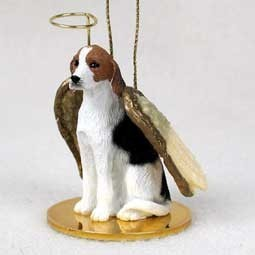 American Foxhound Angel Ornament