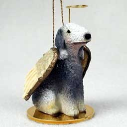 Bedlington Terrier Angel Ornament