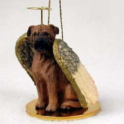 Bullmastiff Angel Ornament