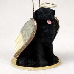 newfoundland angel ornament - Black Lab Christmas Ornament