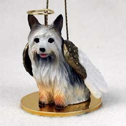 Silky Terrier Angel Ornament
