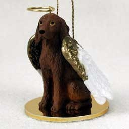 Vizsla Angel Ornament