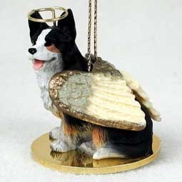 Welsh Corgi Cardigan Angel Ornament
