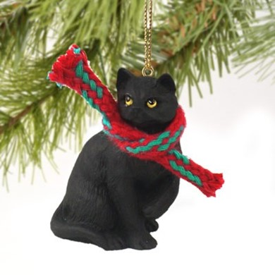 black cat christmas ornament - Cat Christmas Decorations