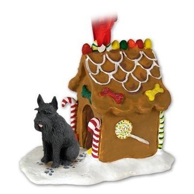Giant Schnauzer Gingerbread Christmas Ornament