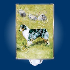 Australian Shepherd Night Light