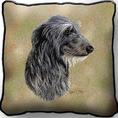 Scottish Deerhound Pillow, made in the USA