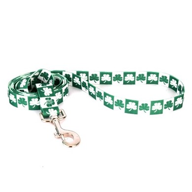 Shamrock Leash, the Perfect St. Patrick's Day Leash