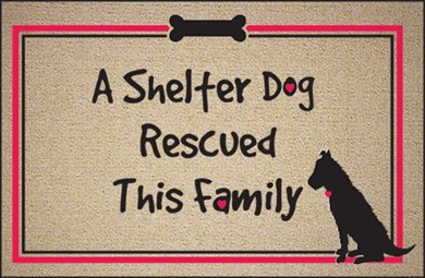 A Shelter Dog Rescued This Family Mat