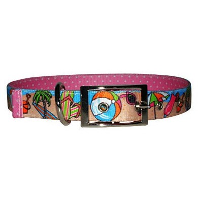 Uptown Beach Party Buckle Collar