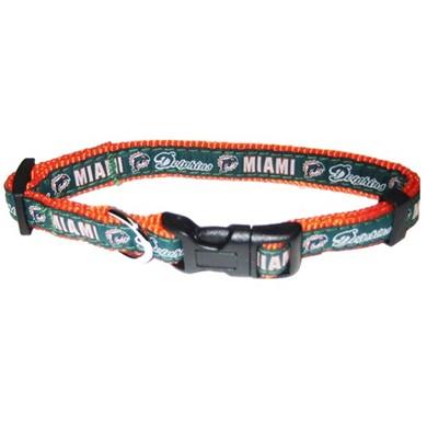 aae03811d Miami Dolphins NFL Dog Collar