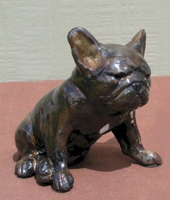 French Bulldog, Ron Hevener Limited Edition Figurine