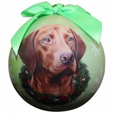 Vizsla Ball Christmas Ornament