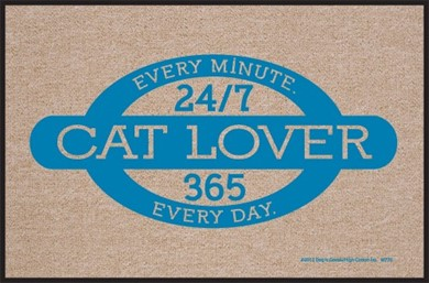 Cat Lover Mat
