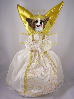 Papillon Angel Tree Topper