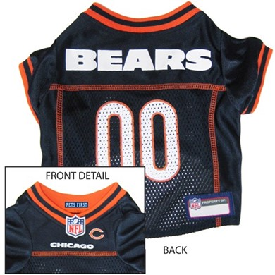 Chicago Bears Pet Football Jersey