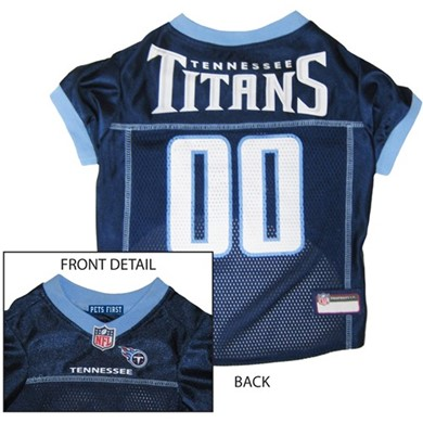 Tennessee Titans Pet Football Jersey
