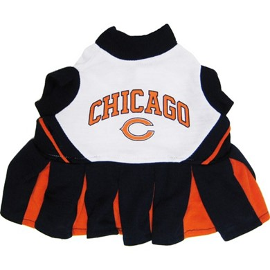 Chicago Bears Pet Cheerleader Dress