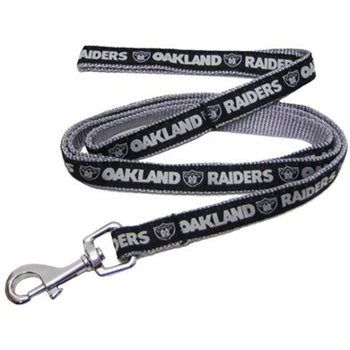 Oakland Raiders NFL Dog Lead
