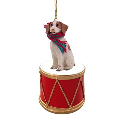 Brittany Drum Christmas Ornament