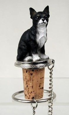Chihuahua Bottle Stopper- Click for more breed options
