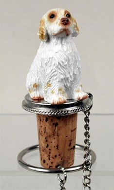 Clumber Spaniel Bottle Stopper