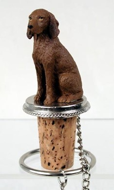 Vizsla Bottle Stopper