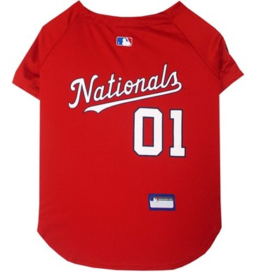 Washington Nationals Pet MLB Jersey