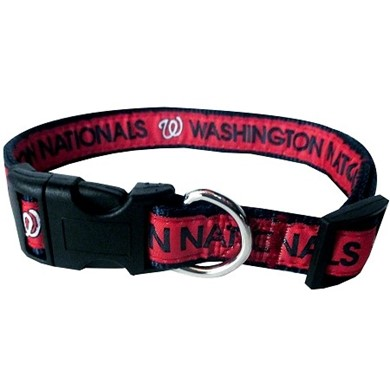 Washington Nationals Dog MLB Collar