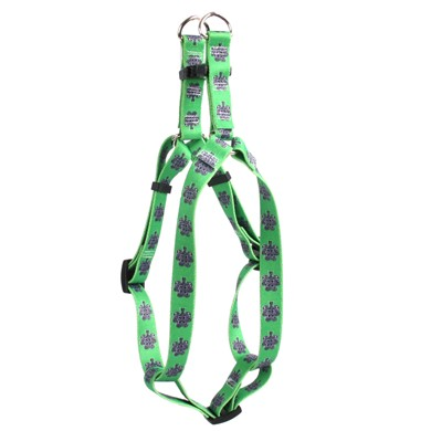 Knotted Shamrock Step-In Harness