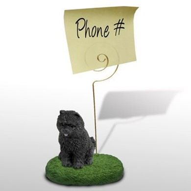Chow Chow Memo Holder - click for more breed colors
