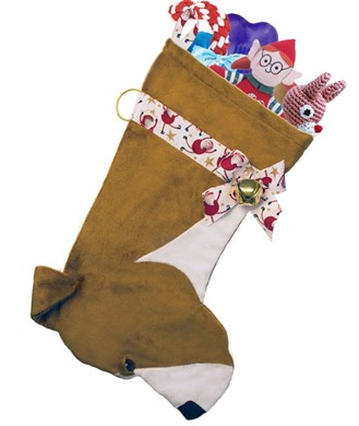 American Pit Bull Terrier Christmas Stocking