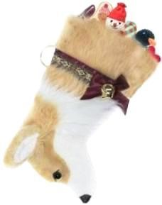 Corgi Christmas Stocking